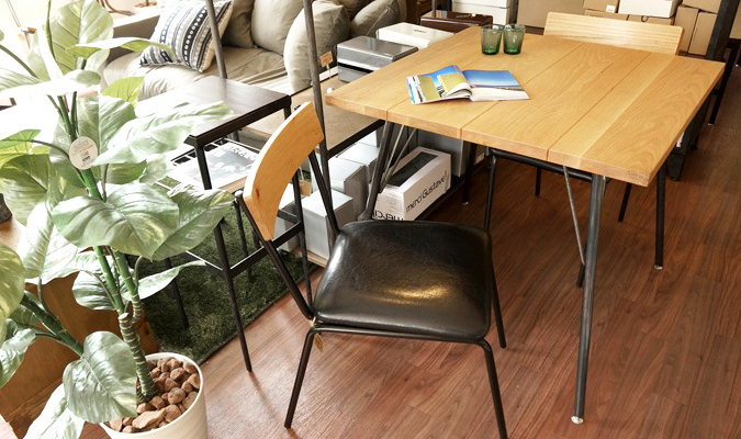 SHINBASU DINING TABLE 80